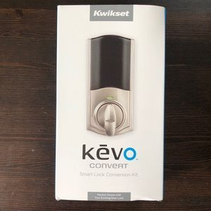 SOLD—Kwikset Kevo Convert Smart Lock Deadbolt